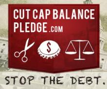 Cut Cap Balance Pledge