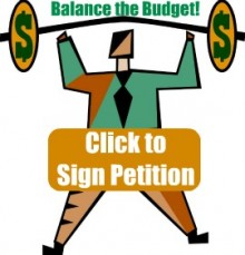Keep The Pressure On: Balance The Budget