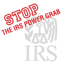 IRSPowerGrab.com: Stop the IRS health care power grab!