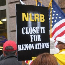 StopTheNLRB.com: Freeze the Unconstitutional NLRB!