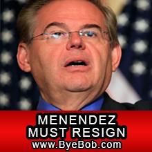 ByeBob.com: Menendez Must Resign!