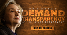 Citizens United Is Going To Court For Hillary Records � Join The Fight For Government Transparency Today!