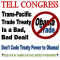Urge Congress to defeat the Trans-Pacific Partnership! Image